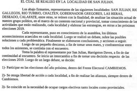 """""""Vamos a participar de las elecciones aunque el partido siga intervenido""""."""