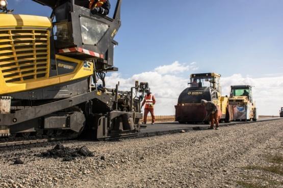 Se reactivaron más de 1.200 Km de obras viales en la Patagonia