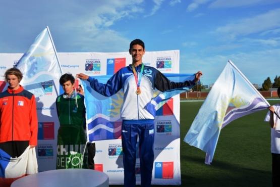 La primera medalla para Santa Cruz fue en atletismo