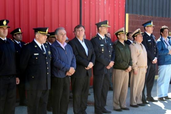 Se celebró el 134 aniversario de la Policía de Santa Cruz