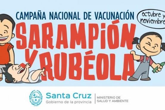 La mitad de la población falta vacunarse contra Rubeola y Sarampión