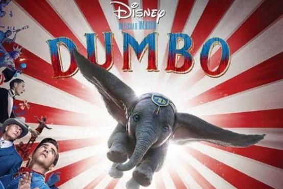 ¡Mirá el nuevo tráiler de la película DUMBO!