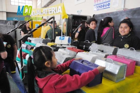 """Interesantes proyectos en la """"Expo Tecnológica"""" del EICO"""