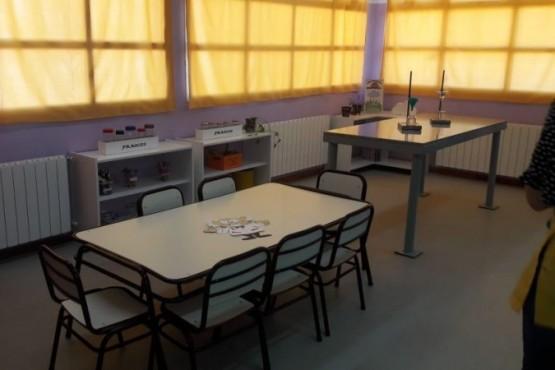 Se inauguró la sala para el Club de Ciencia Yumbrel