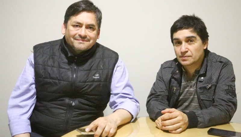 Juan Dy y Manuel Flores de MUSAC (C.G)