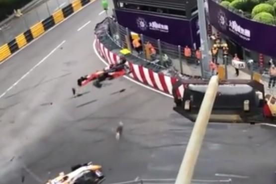 El terrible accidente de Sophia Floersch en el Gran Premio de Macao