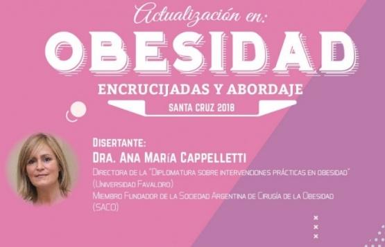 Este viernes realizarán charla sobre la Obesidad