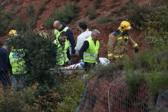 Un tren descarriló en las afueras de Barcelona: hay un muerto y al menos 41 heridos