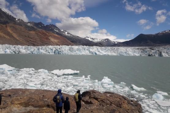 Se aceleró aún más el retroceso del Glaciar Viedma