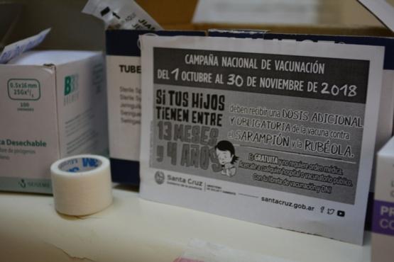 Campaña de vacunación en la sede de APAP