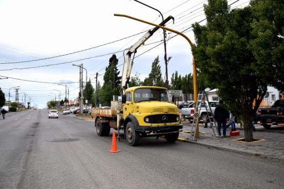 Se colocaron más de cincuenta semáforos con controladores