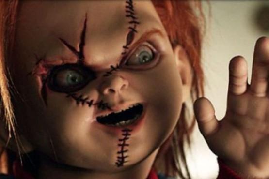 El nuevo look de el muñeco diabolico.