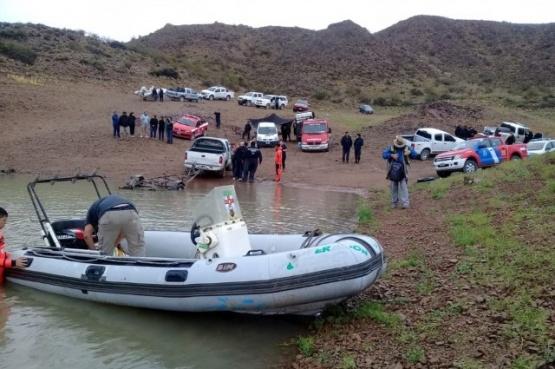 Hallaron otro cuerpo de la tragedia del Dique Ameghino