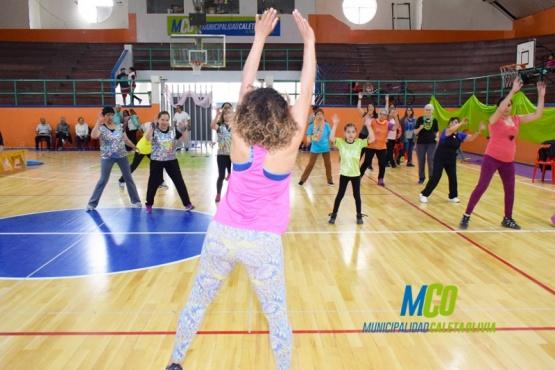 Muestra anual en el Complejo Deportivo Municipal