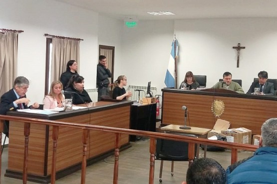 La imputada se negó a declarar ante el Tribunal Oral.