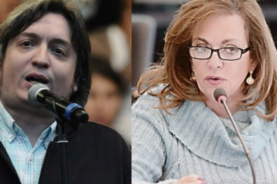 Sobreseyeron a Máximo Kirchner y a Nilda Garré en la falsa denuncia por cuentas en el exterior