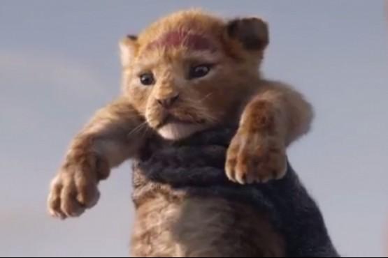 """Disney lanzó el primer trailer de la remake de """"El Rey León"""""""