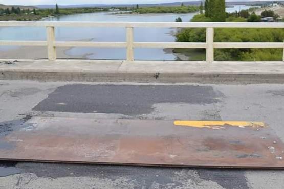 Informan que el puente no tiene riesgo de colapso