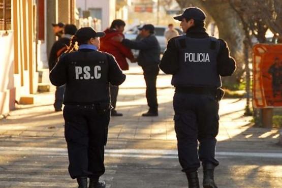 Despliegue policial atento a los festejos por el superclásico copero