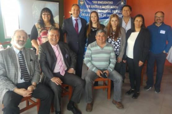 El Chaltén presente en Encuentro de Jueces y Secretarios de la Justicia Municipal de Faltas