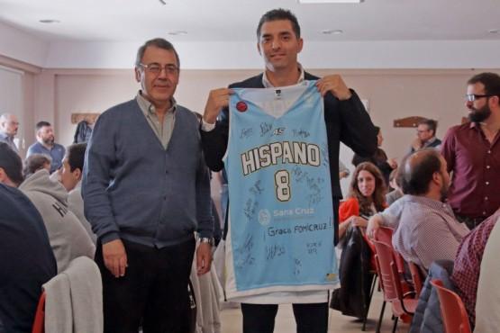 Hispano Americano visitó FOMICRUZ