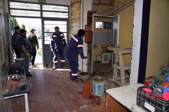 Trabajos de mantenimiento y limpieza
