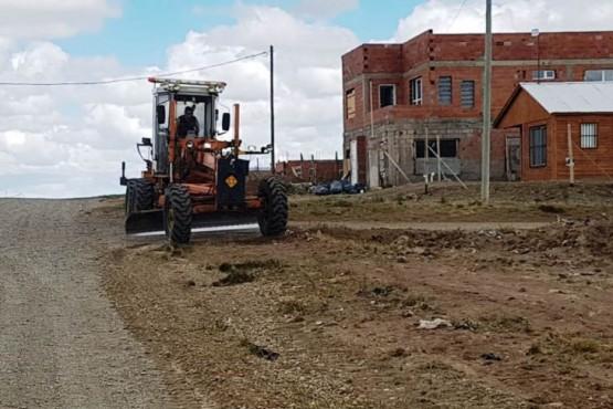 Preparan calle paralela a la 13 para mejorar la transitabilidad