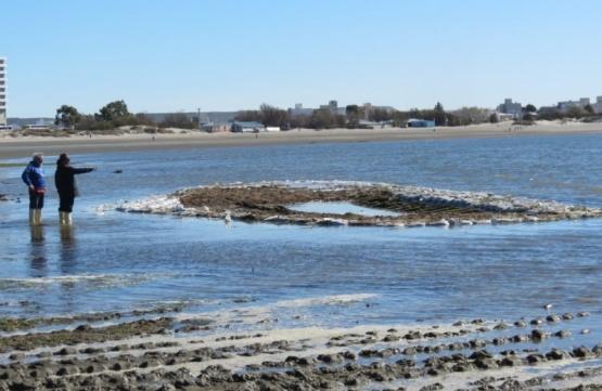 Investigan naufragio del siglo XIX en Puerto Madryn