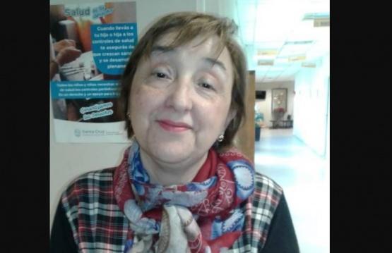 Marta González, reconocida enfermera en la localidad.