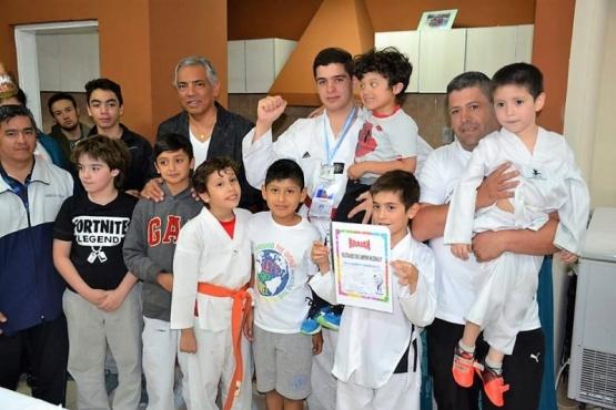 Cañadón Seco tiene su subcampeón nacional de Taekwondo