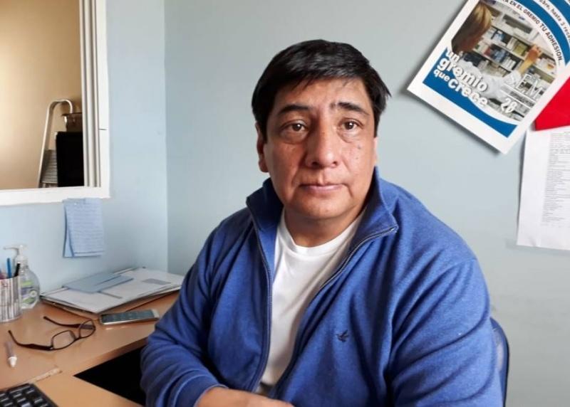 Rubén Delgado, Sec. Adjunto del gremio.