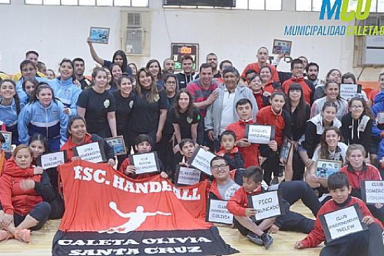 Torneo Aniversario de Handball en Caleta Olivia