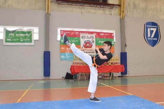 Se realizó un Torneo Abierto de Artes Marciales