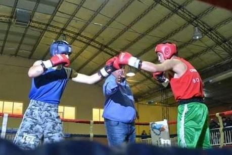 Dolavon: gran festival de box amateur en el gimnasio municipal