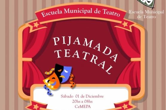 Actividades de cierre de año de la Escuela Municipal de Teatro