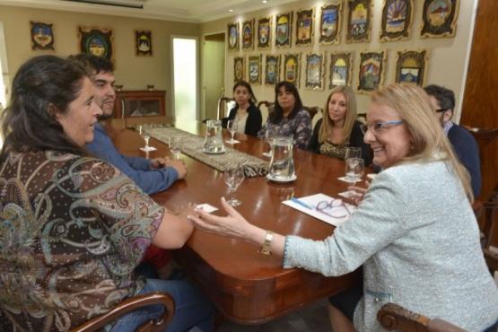 La reunión se concretó en Casa de Gobierno.