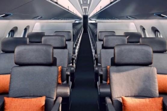 Un revolucionario avión de pasajeros busca acabar con la pesadilla del asiento central