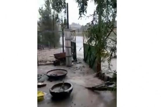 Fuertes lluvias provocaron inundaciones