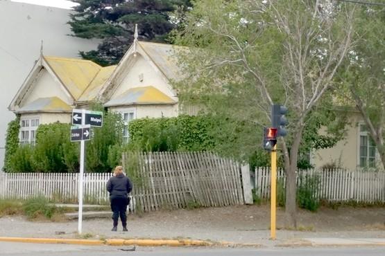 La vivienda tiene consigna policial desde que se cometió el ilícito. (Foto: C.G.)