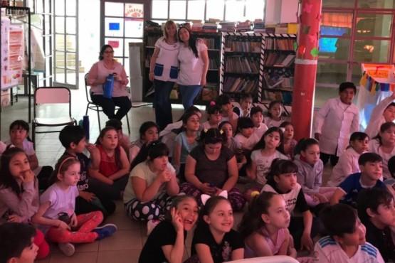 Charlas de prevención en salud en escuelas