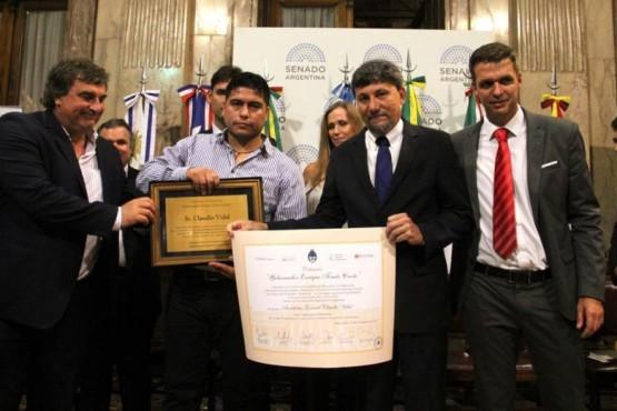 Vidal fue reconocido como un Líder para el Desarrollo de Latinoamérica