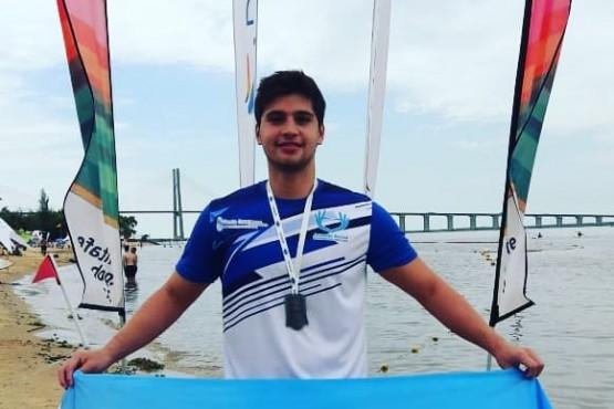 Matías Díaz Hernández subcampeón en los Juegos de Playa