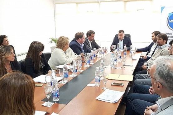 Tras la habilitación parcial se reunió el Comité de Vigilancia de Zona Franca