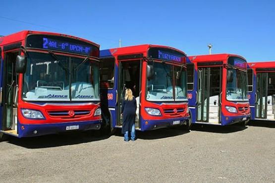 Hoy comienzan los nuevos recorridos del transporte urbano en Trelew