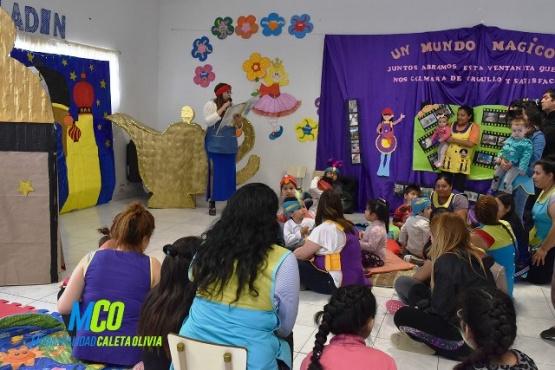 Maternal municipal incentiva a la lectura desde los primeros años de vida