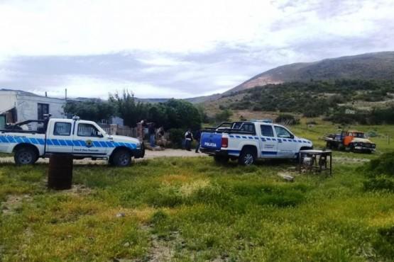 Complejo de departamentos allanados en la ciudad de Las Heras.