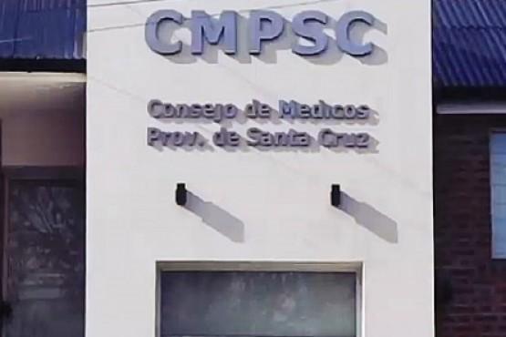 El Consejo de Médicos de Santa Cruz saludó a los profesionales en su día