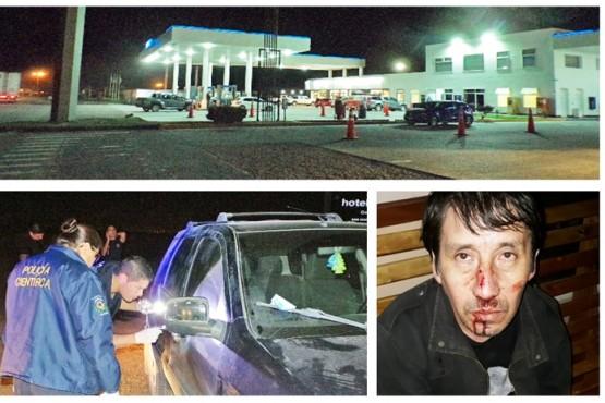 Lo golpearon, le robaron la camioneta y la usaron para salir a robar