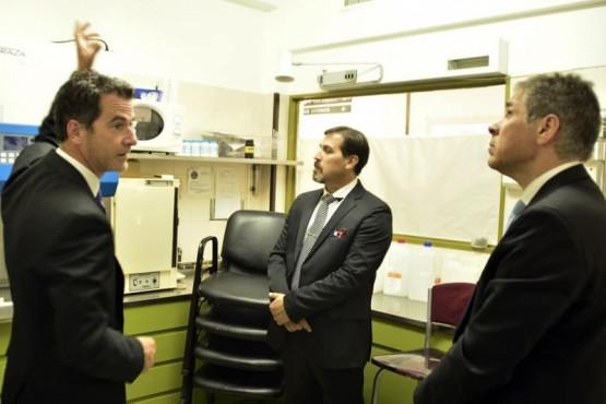 El Vicegobernador visitó el Hospital