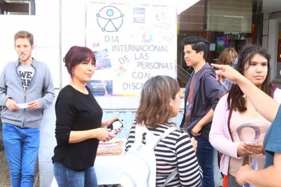 Campaña de concientización por el día de la discapacidad